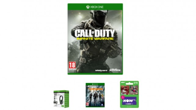 UK Deals: Xbox One Essential Bundle, Call of Duty Infinite Warfare, Gaming Monitor